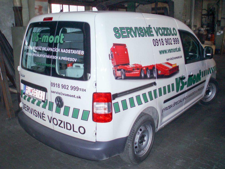 Wir leisten den Service auch über Servicewagen