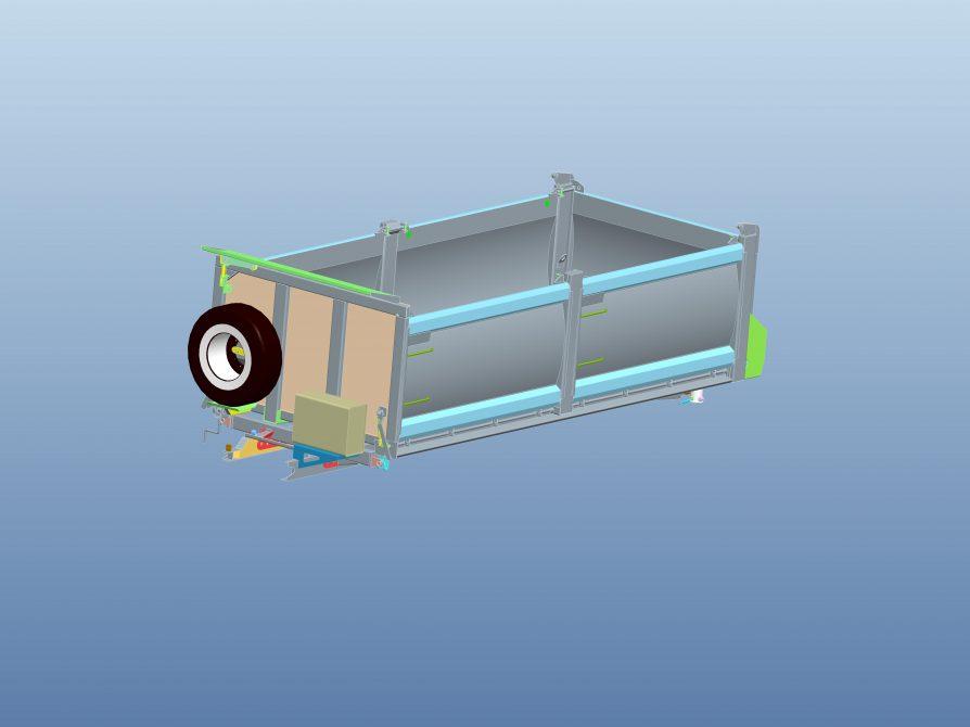 Nadstavba S3 model