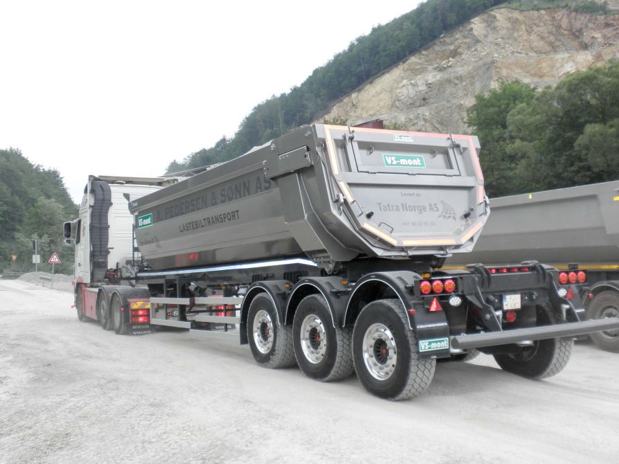 VSNS45T special tipping semi-trailer
