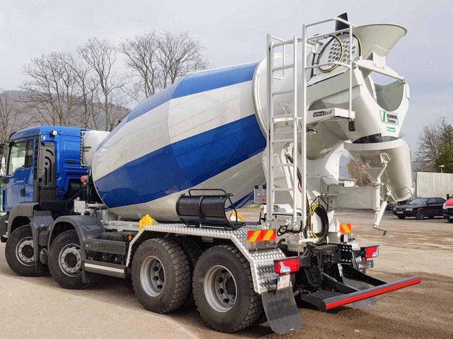 Truck mixer Stetter