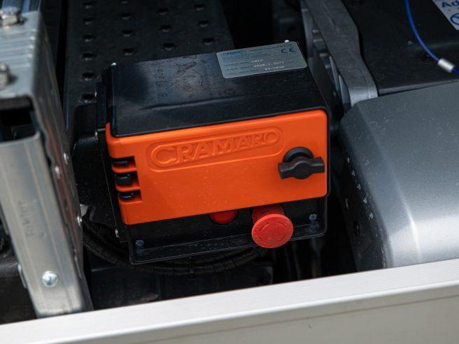 Elektrické ovládanie zaplachtovania CRAMARO + diaľkové ovládanie