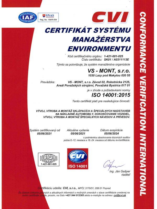ENVIRONMENTAL 14001_2015 SK