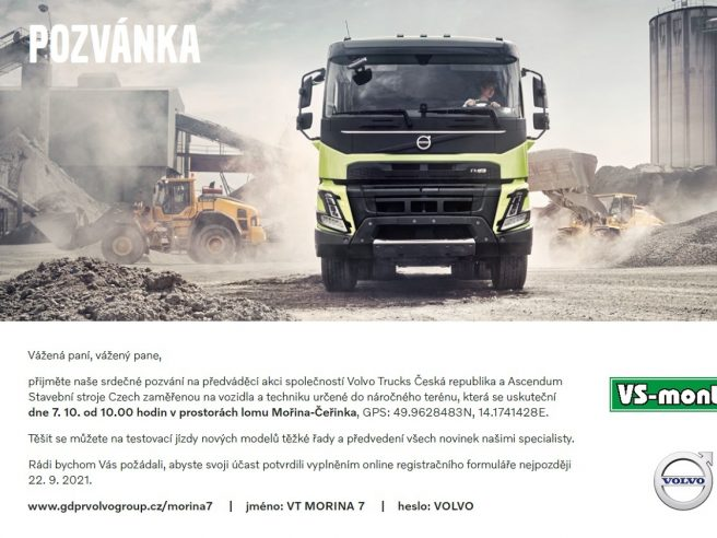 Pozvánka Volvo_VS-MONT Mořina 07_10